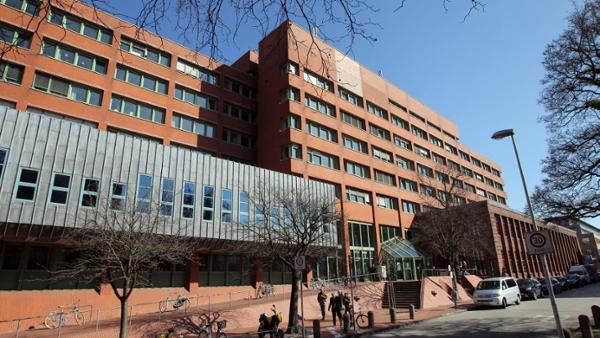 Außenansicht des Amtsgerichts Kiel