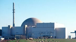 Außenansicht des Kernkraftwerks