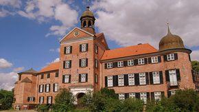 Frontansicht von Schloss Eutin