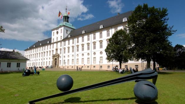 Außenansicht von Schloss Gottorf