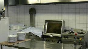 Küche in der JVA Itzehoe