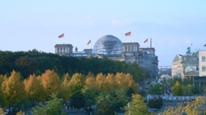 Bundestagsgebäude in Berlin
