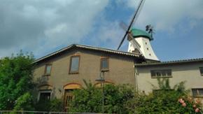Die Mühle Amanda und das Müllerhaus in Kappeln