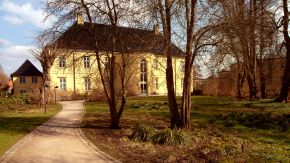 Weg zum Landesarchiv Schleswig-Holstein, Rückseite des Prinzenpalais