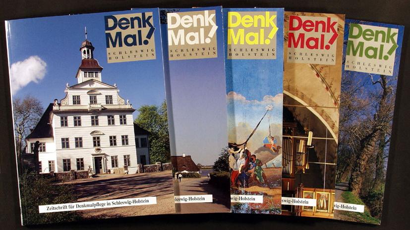 Titelblätter Zeitschrift DenkMal! - verschiedene Ausgaben