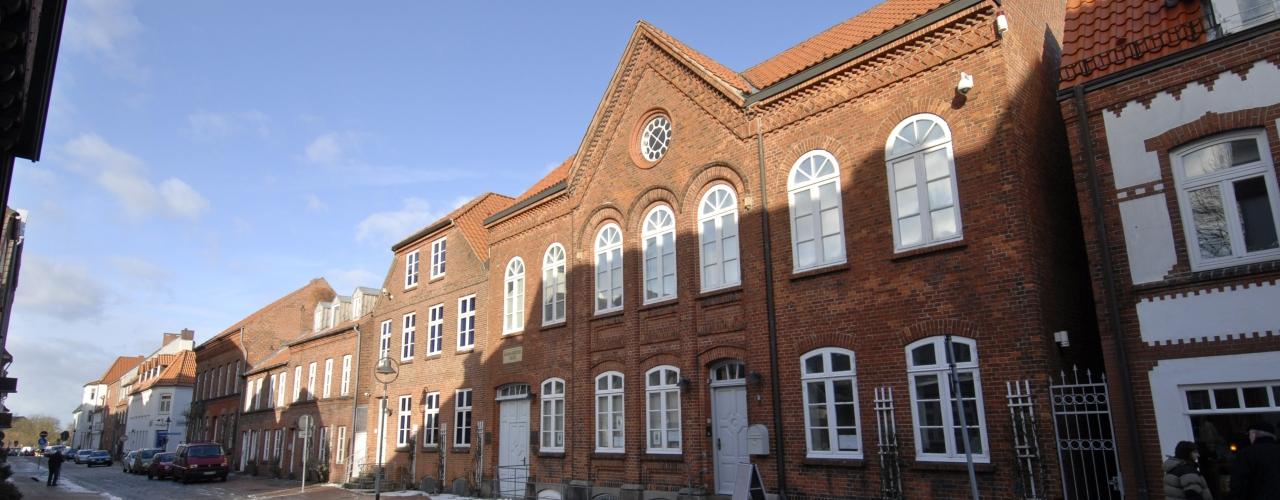 View at the Schifffahrtsmuseum Kiel